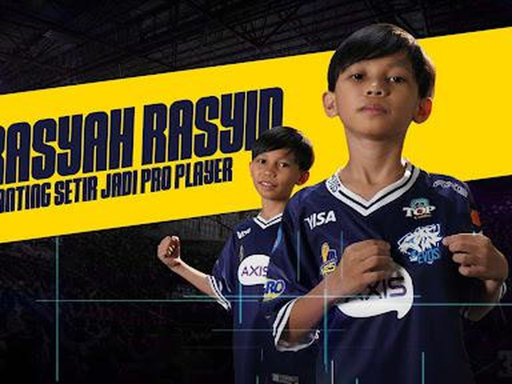 Kisah Rasyah Rasyid, Youtuber Cilik yang Banting Setir Jadi Pro Player!