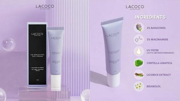 Lacoco 5% Bakuchiol Day Cream | Foto : instagram/lacoco.id
