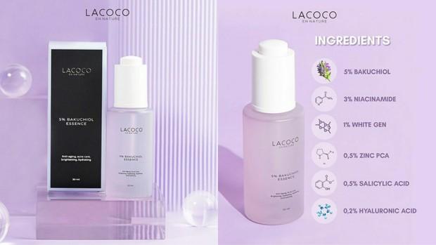 Lacoco 5% Bakuchiol Essence | Foto : instagram/lacoco.id