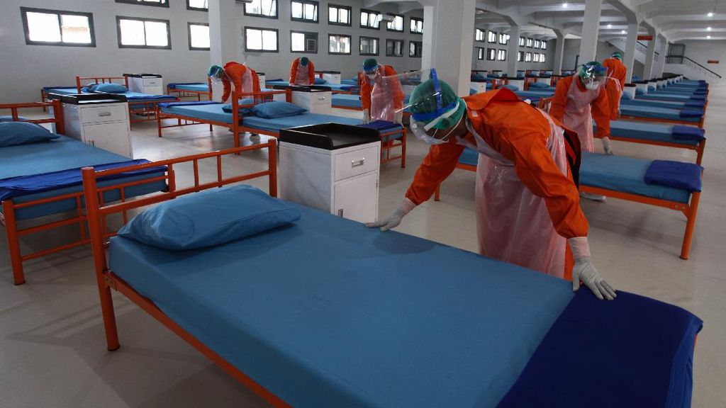 RS Darurat di Lanmar Surabaya Siap Tampung Pasien COVID-19