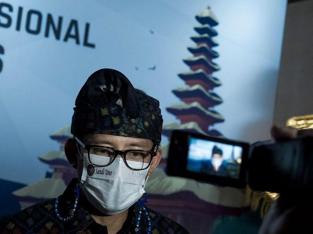 Impian Sandiaga Indonesia jadi Pusat Ekowisata Dunia