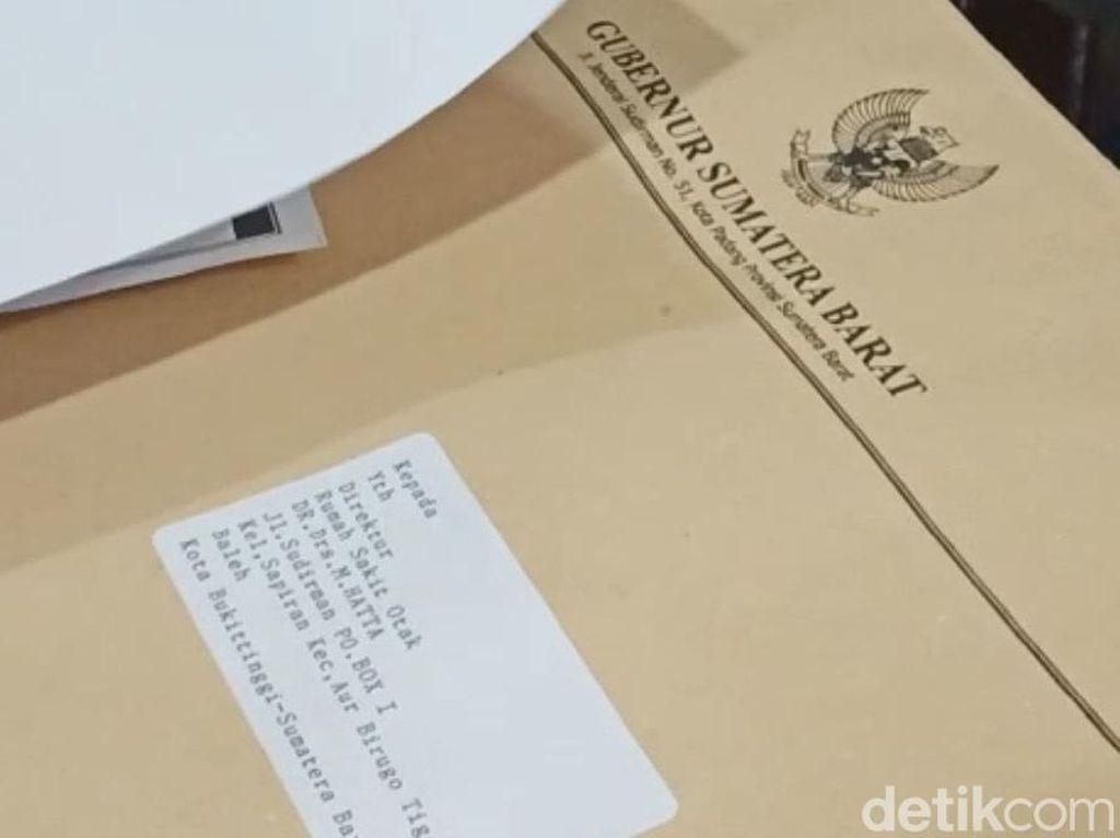 Surat Gubernur Sumbar Asli, Polisi Setop Kasus Penipuan Surat Sumbangan