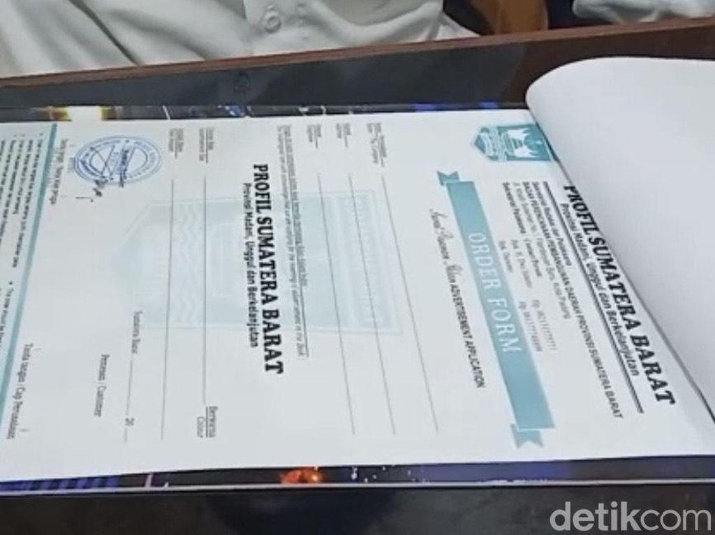 Polisi: Sekda Sumbar Akui Surat Gubernur Minta Sumbangan dari Bappeda