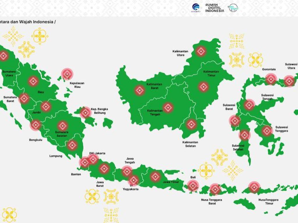 Mengenal Local Heroes di Aceh-Papua Lewat Rumah Digital Indonesia