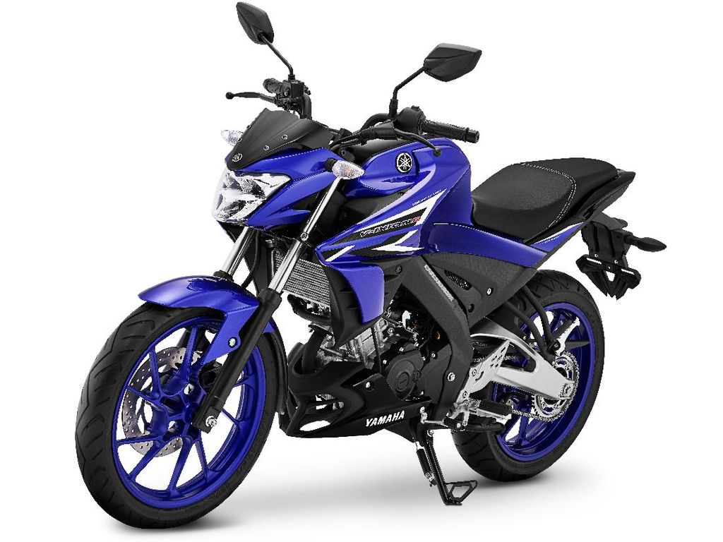 Yamaha Vixion R Jubah Biru Meluncur, Siap Lawan Honda CB150R