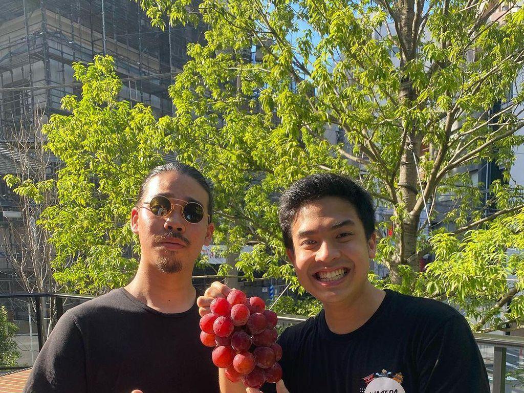 Doyan Buah, Jerome Polin Pernah Makan Anggur Termahal di Dunia