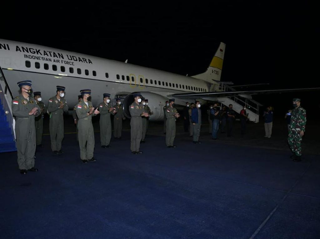 KSAU Apresiasi Personel TNI AU Terlibat Misi Evakuasi WNI dari Afghanistan