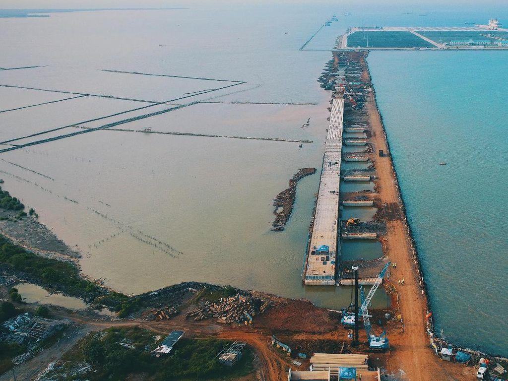 Menengok Proyek Jembatan Pelabuhan Patimban