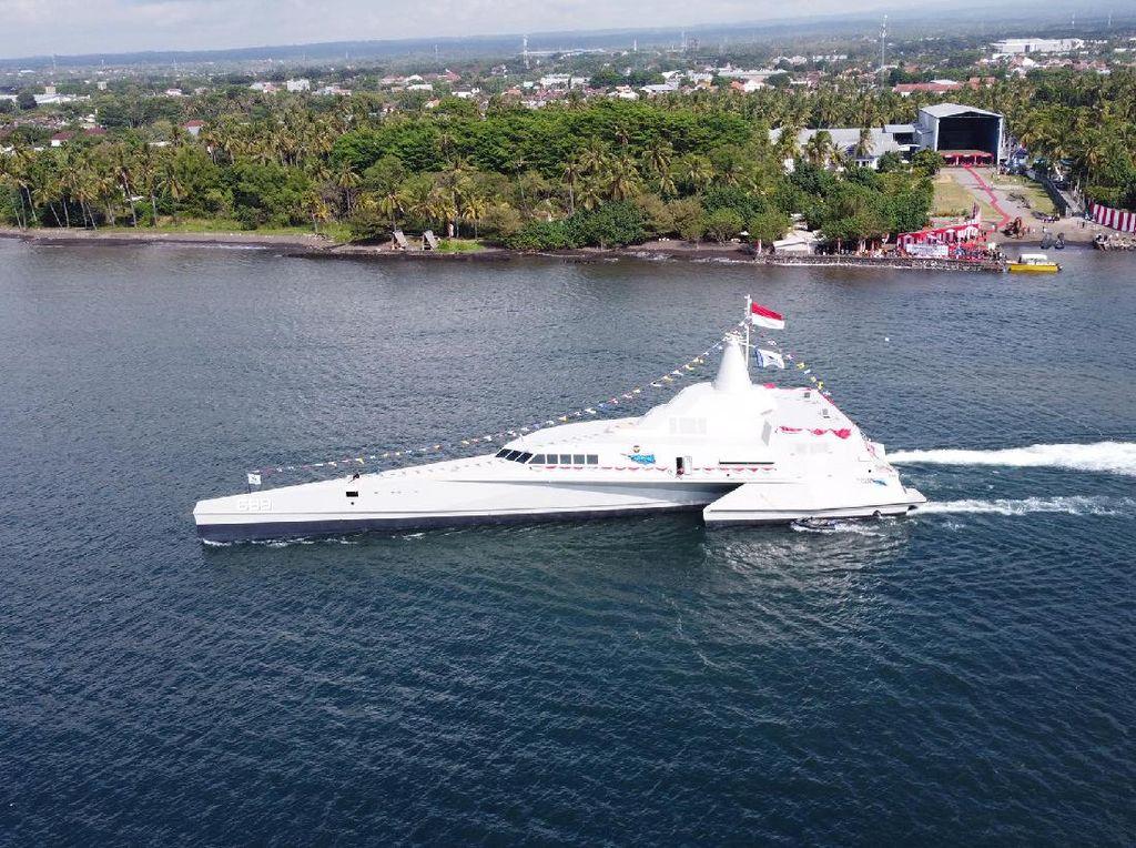 Fakta-fakta KRI Golok, Kapal Perang Siluman Anyar TNI AL