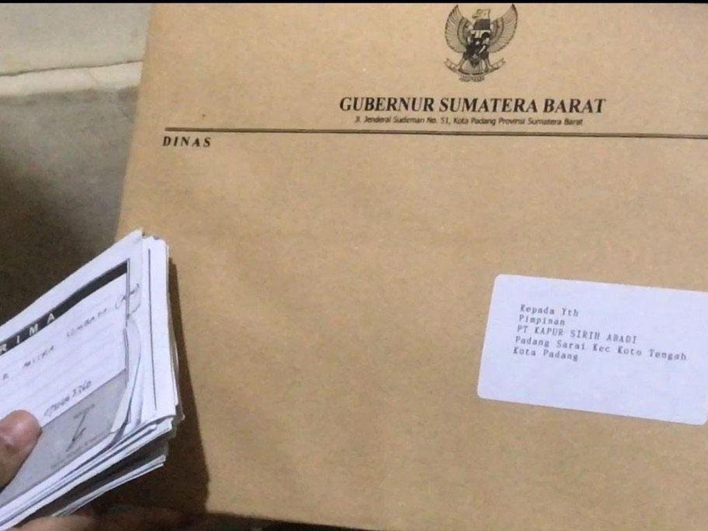 Polisi Periksa 4 Pemberi Uang soal Surat Gubernur Sumbar Minta Sumbangan