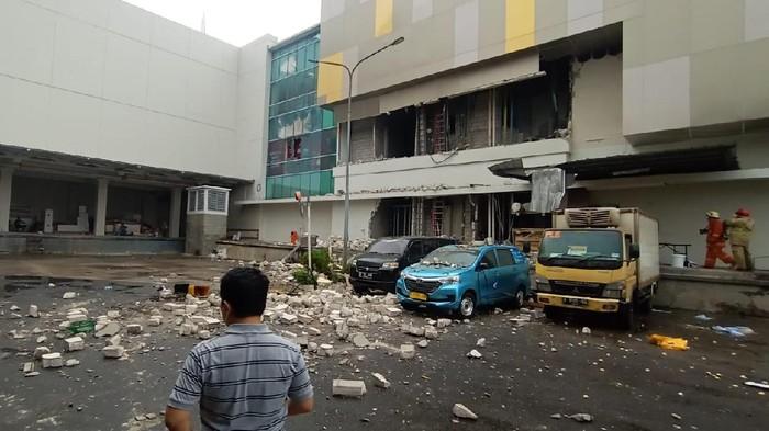 Margo City Depok Masuk Trending Topic, Bukan Bom Tapi Lift Barang Jatuh
