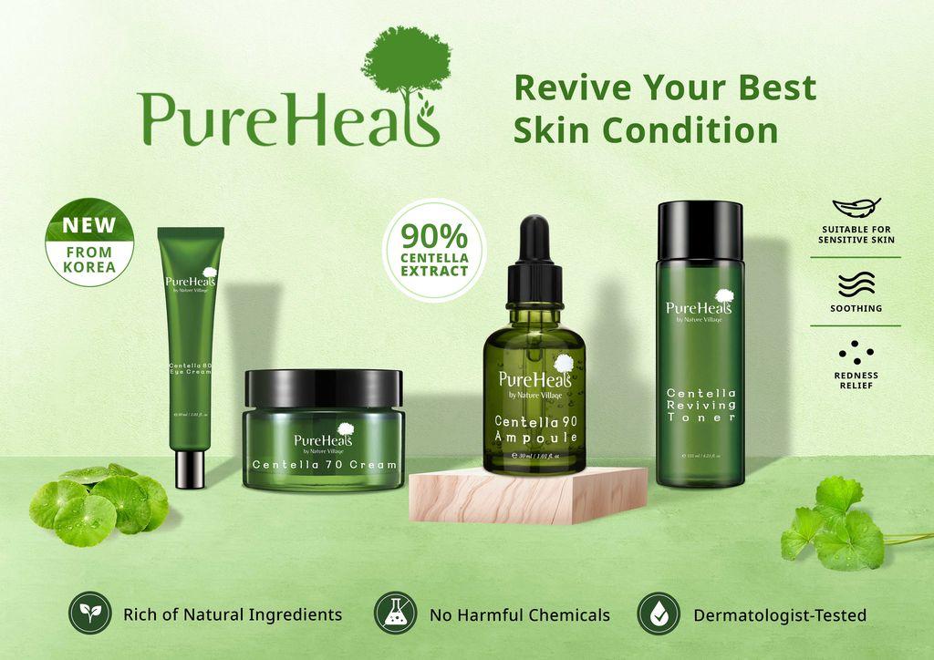 PureHeal's Centella Line