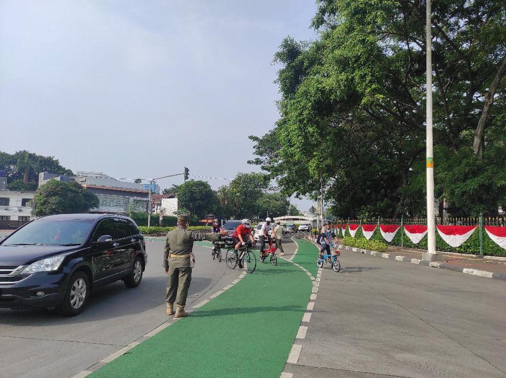 Sepeda Dilarang Melintas di Kawasan Ganjil Genap Sudirman-Thamrin