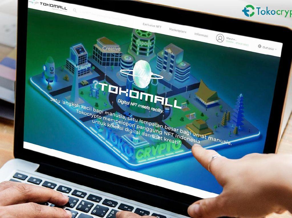 TokoMall, Marketplace NFT Bikinan Tokocrypto