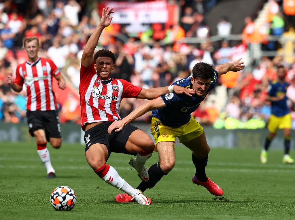 Hasil Southampton Vs Manchester United: Setan Merah Ditahan 1-1