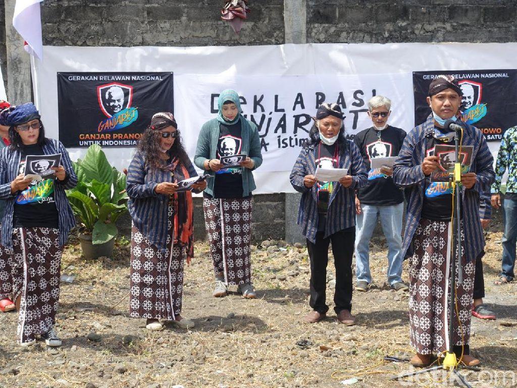 Deklarasi Relawan Ganjarist Bergema di Yogyakarta