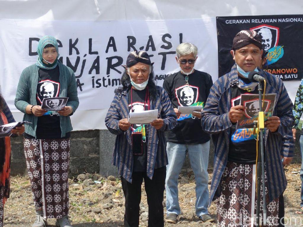 Ramai Deklarasi Relawan Ganjar, Dinilai Jadi Ajang Caper ke Parpol