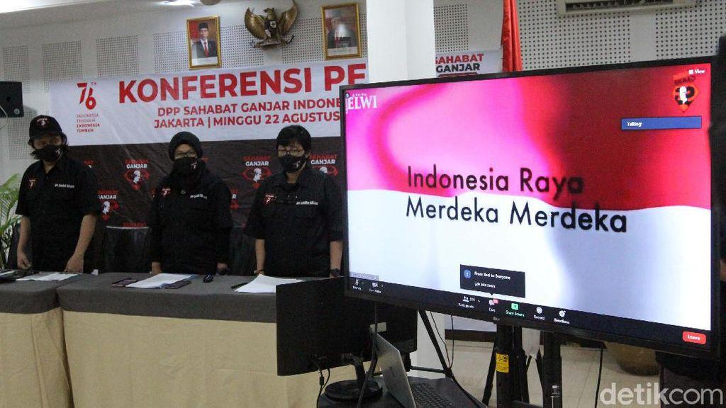 Serentak, Sahabat Ganjar dari 34 Provinsi Deklarasikan Dukungan