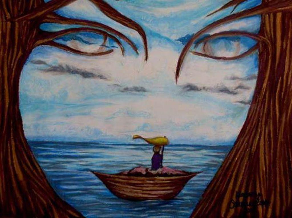 Tes Kepribadian: Gambar Wajah Wanita atau Pohon & Kapal yang Pertama Dilihat?
