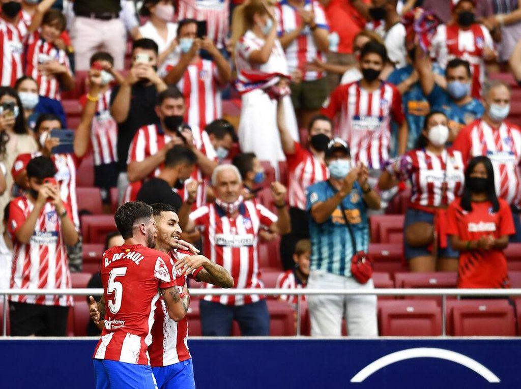 Hasil Atletico Vs Elche: Correa Menangkan Los Rojiblancos 1-0