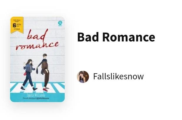 Bad Romance/Foto: wattpad.com/Fallslikesnow