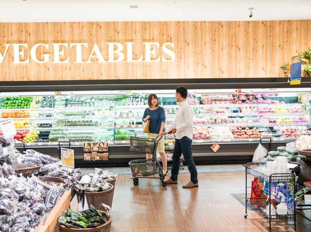Bisa Belanja dan Jajan Enak di Supermarket dengan Fasilitas Nyaman