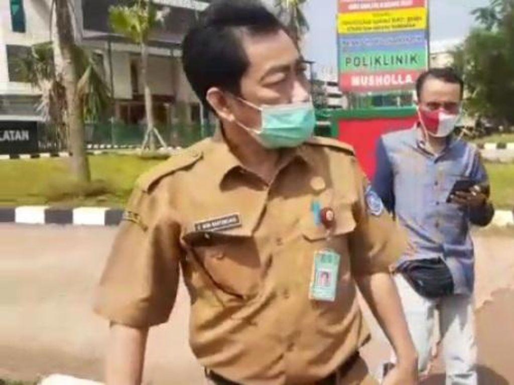 Momen Kadispora Tangsel Diduga Intimidasi, Berujung Dipolisikan Wartawan