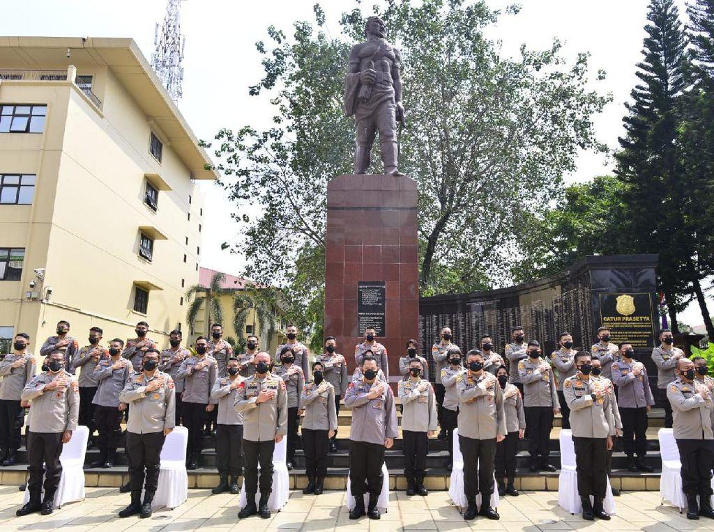 Lepas 37 Perwira Penerima LPDP, Kapolri Titip Pesan Bangun Indonesia Maju
