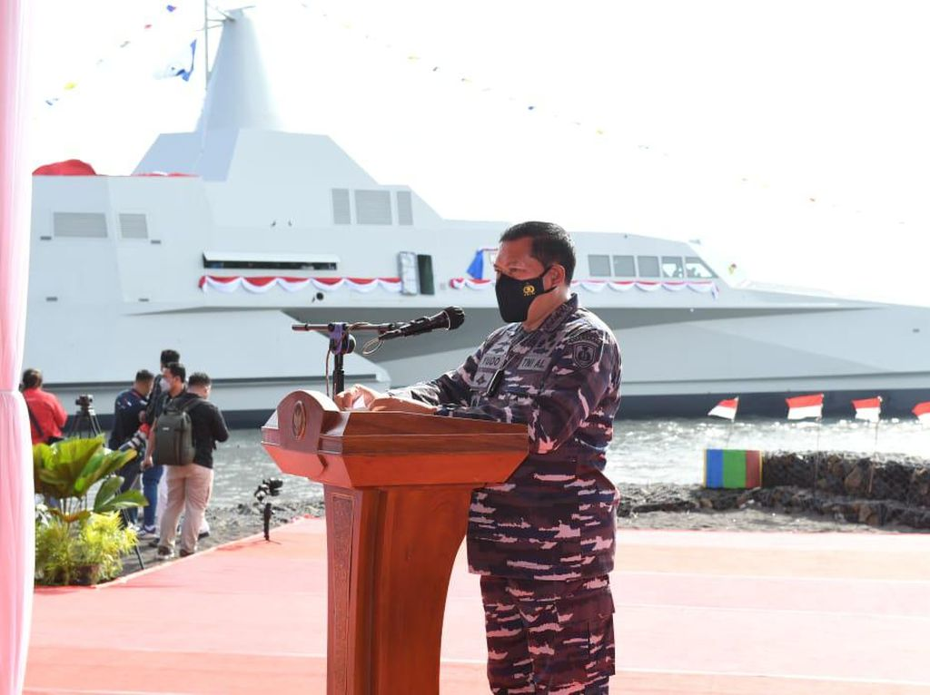 KRI Golok-688 Tambah Kekuatan Kapal Tempur TNI AL, Ini Kecanggihannya