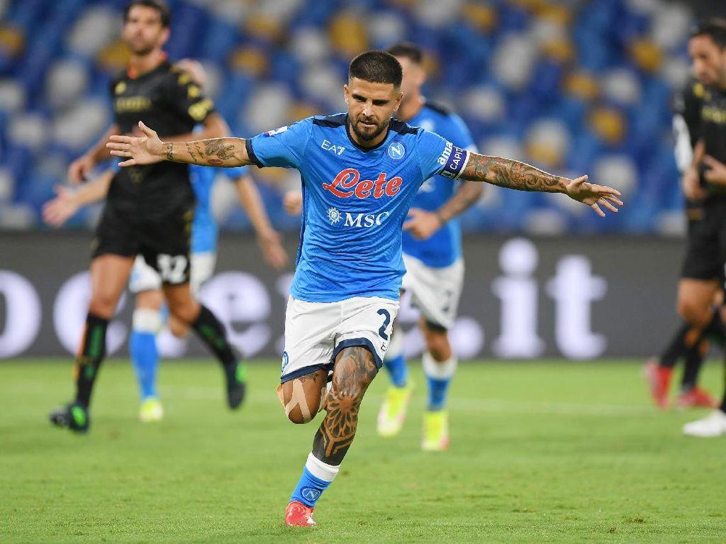 Insigne Masih Sakit Hati Napoli Tak Mentas di Liga Champions
