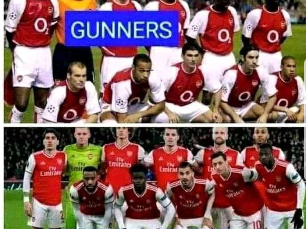 Meme Lucu Arsenal Tampil Memalukan