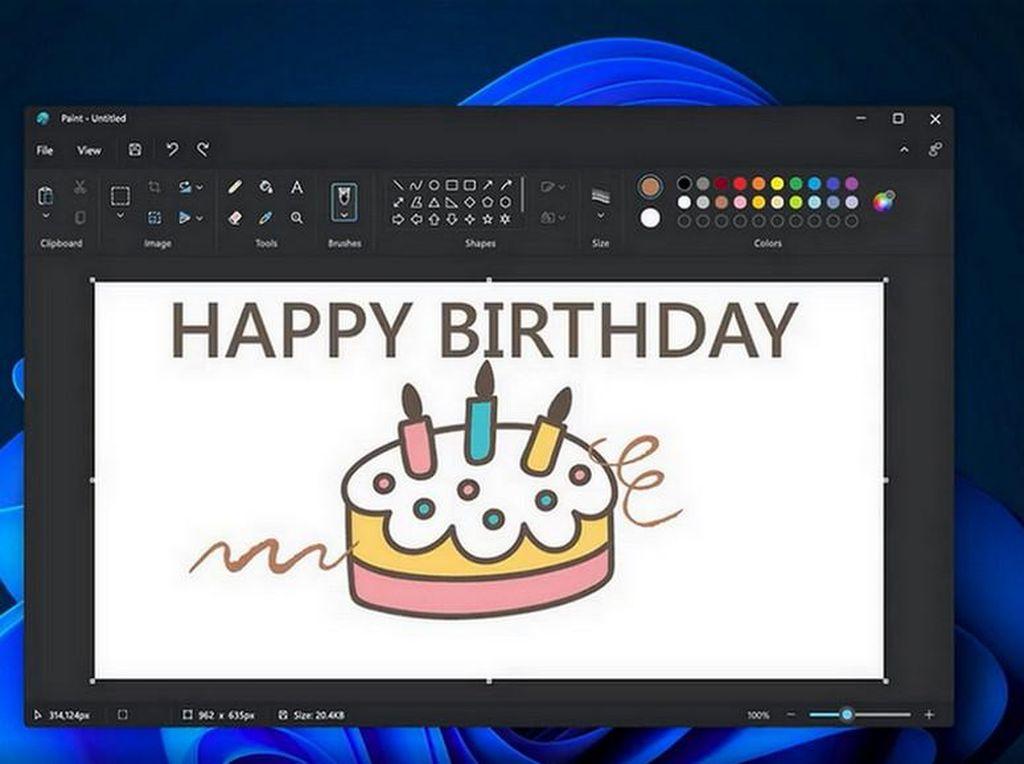 Microsoft Paint di Windows 11 Diperbarui, Seperti Apa?