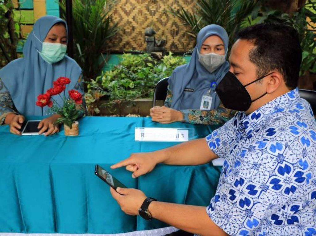 Walkot Tangerang Puji Pelayanan Digital di Kelurahan Nusa Jaya