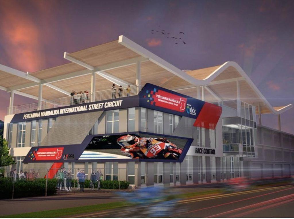 Terungkap, Desain Race Control Sirkuit Mandalika dengan Atap Istimewa