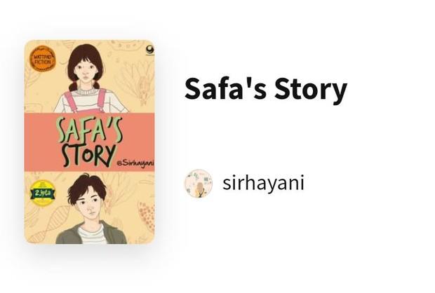 Safa's Story/Foto: wattpad.com/sirhayani