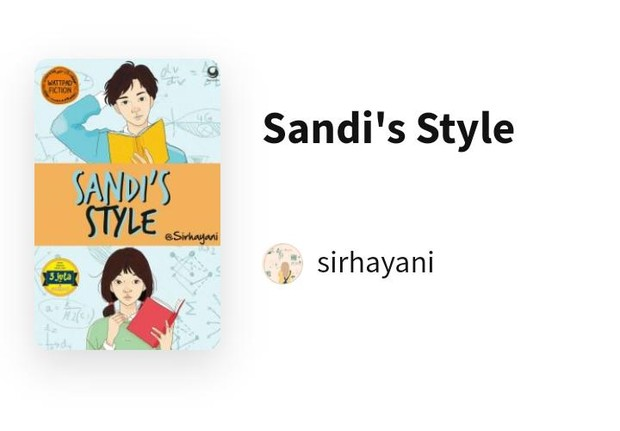 Sandi's Style/Foto: wattpad.com/sirhayani