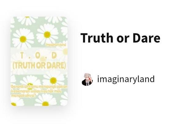 Truth or Dare/Foto: wattpad.com/imaginaryland