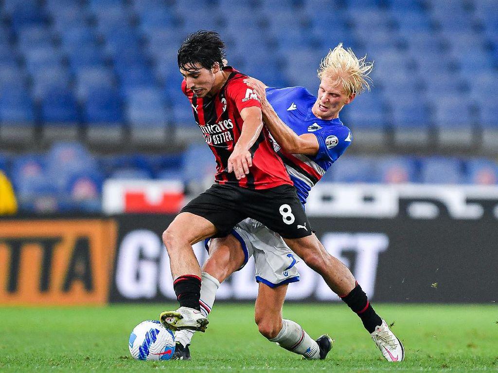 10 Fakta Kemenangan AC Milan di Markas Sampdoria