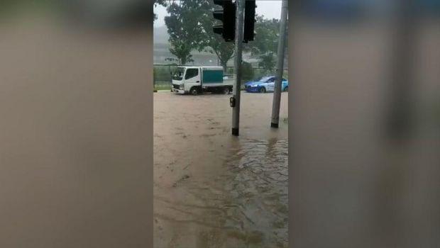 Banjir di Singapura (Ist)