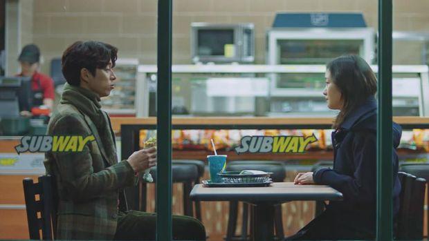 Adegan drama Korea dengan latar Subway