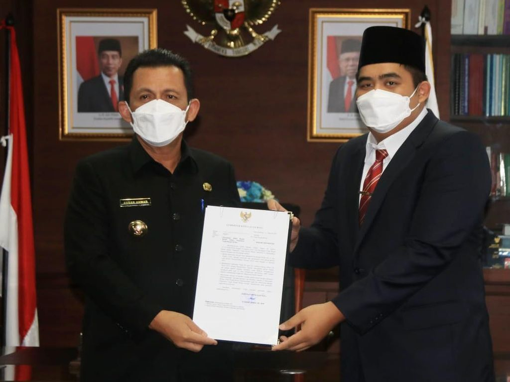Bupati Bintan Ditahan KPK, Anak Gubernur Kepri Jadi Plt