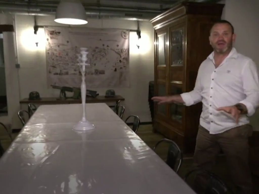Siapa Berani Menginap? Hotel Bawah Tanah Bekas Bunker Perang Dunia II