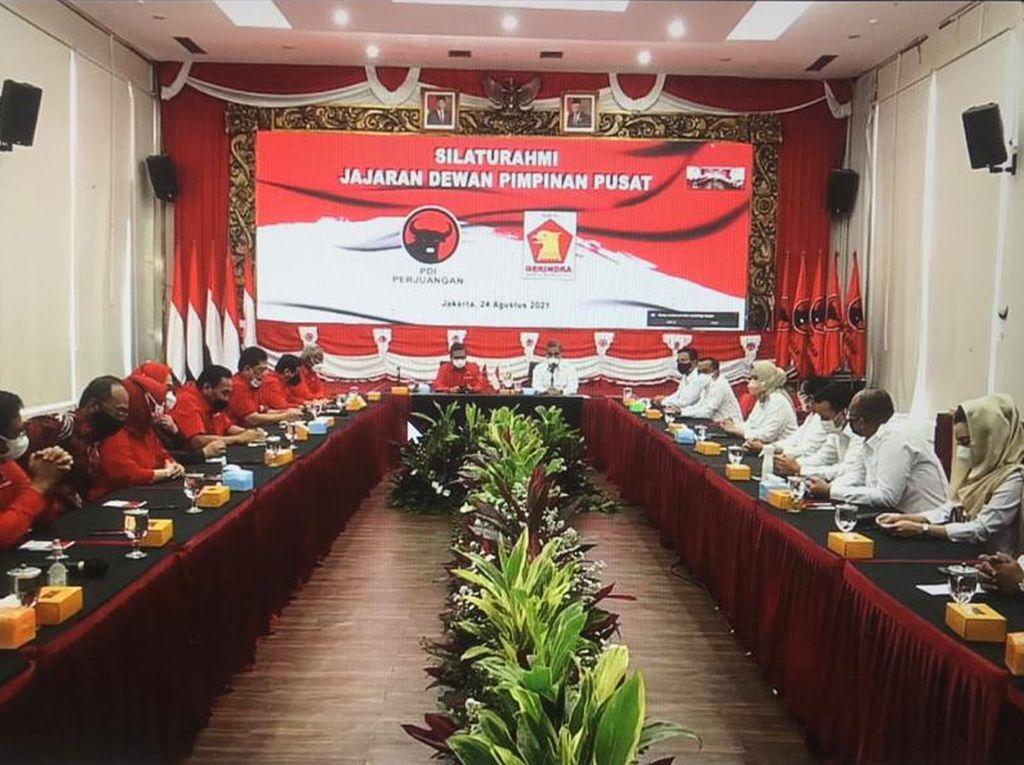 Pertemuan Sekjen PDIP-Gerindra Tertutup, Hasto Ungkap Salam Mega untuk Prabowo