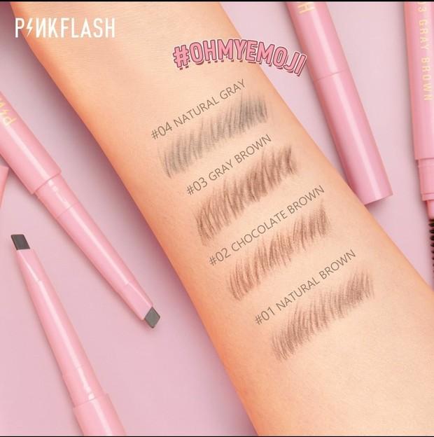 Pinkflash Oh My Emoji Brow Pencil / foto : instagram.com/pinkflashcosmetics