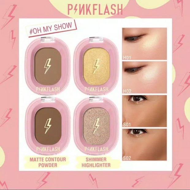 Pinkflash Oh My Show Highlighter / foto : shopee.co.id/almaaf99
