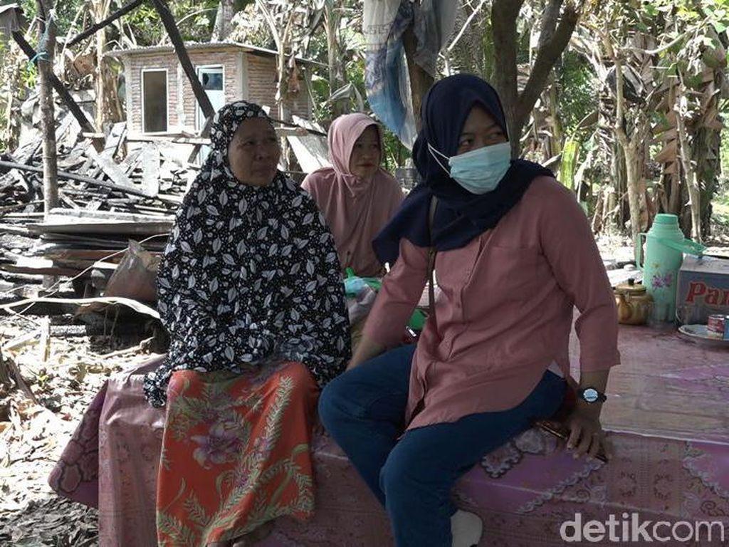 Nestapa Janda Tua di Polman, Rumah Hangus Dibakar ODGJ