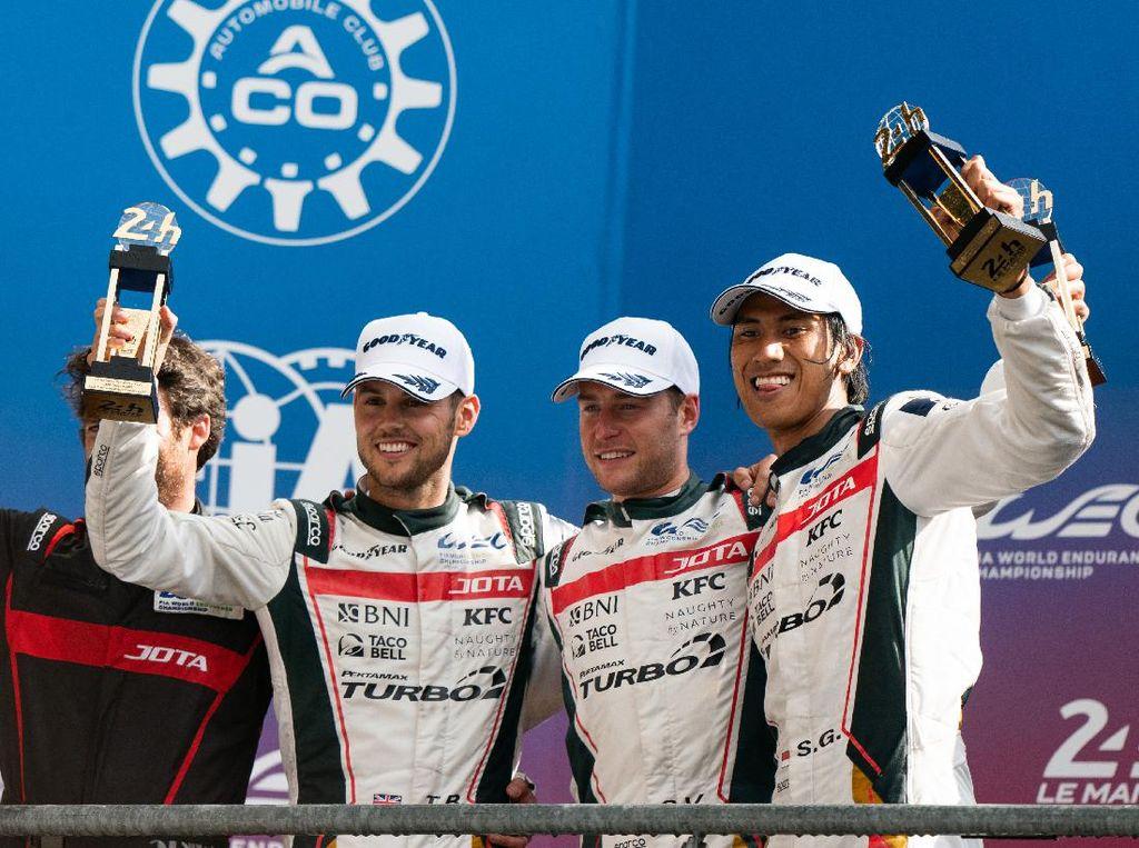 FIA WEC: Sean Gelael dkk. Konsisten Podium, Kapan Menang?