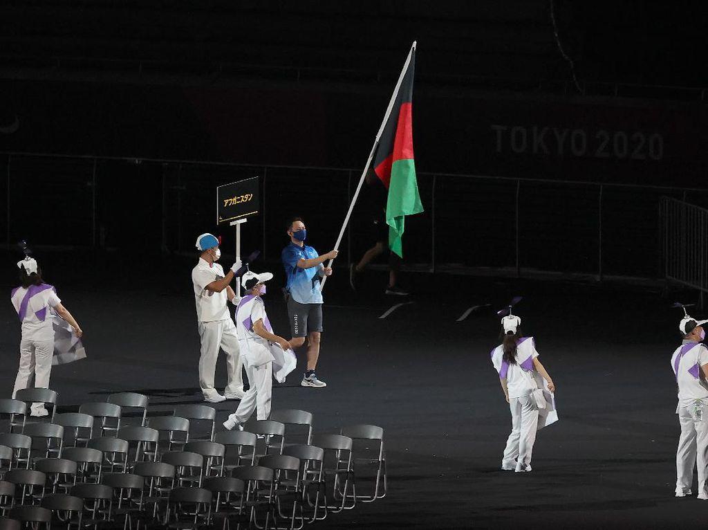 Tanpa Atlet, Afghanistan Cuma Kibarkan Bendera di Paralimpiade Tokyo 2020