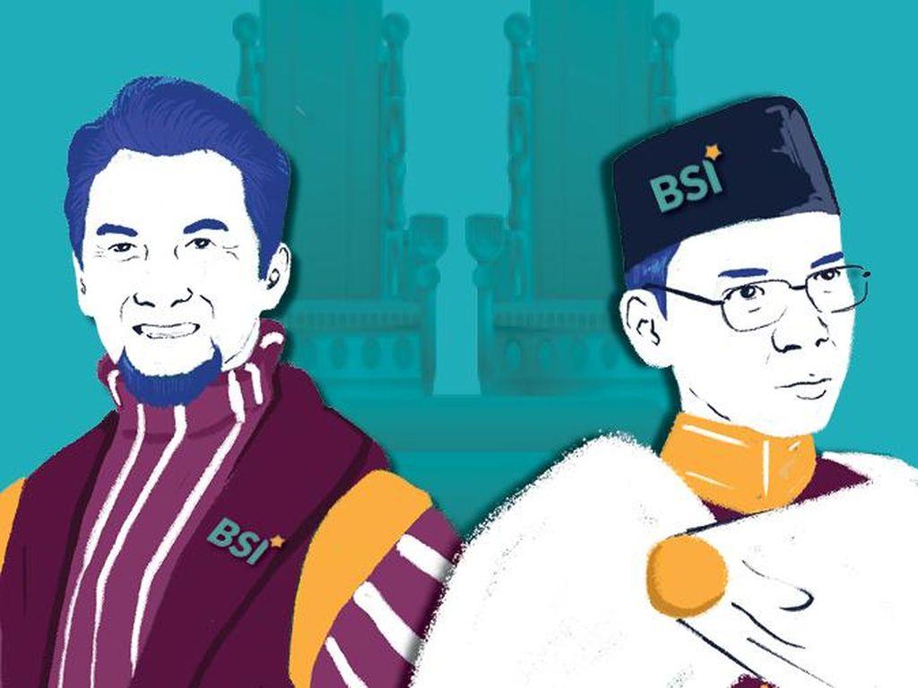 Duet Ustaz di Bank Syariah Indonesia