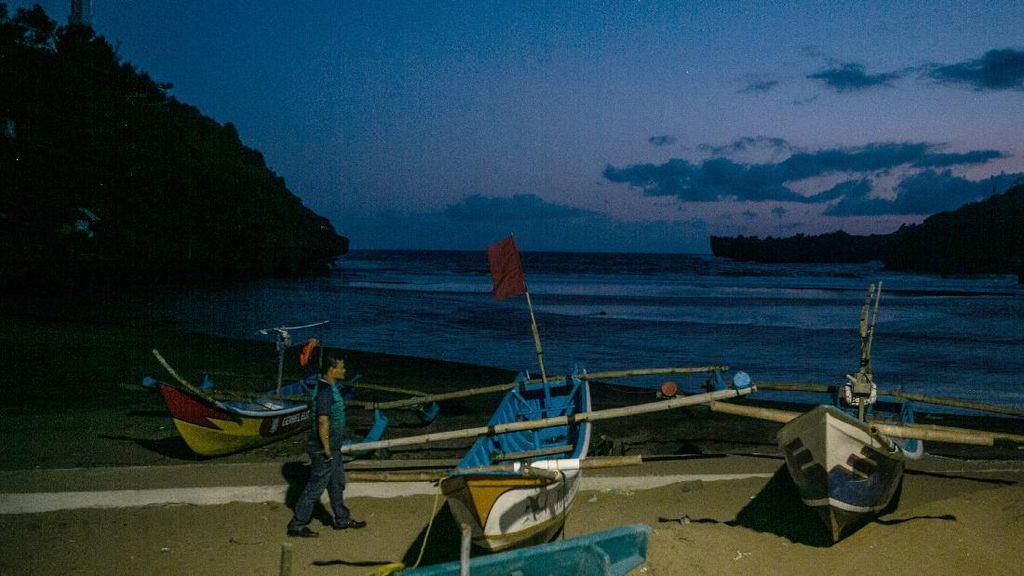 Sempat Ramai Pengunjung, Wisata Pantai di Gunungkidul Ditutup